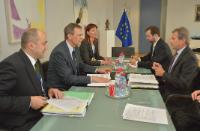 Visit of Andris Vilks, Latvian Minister for Finance, to the EC