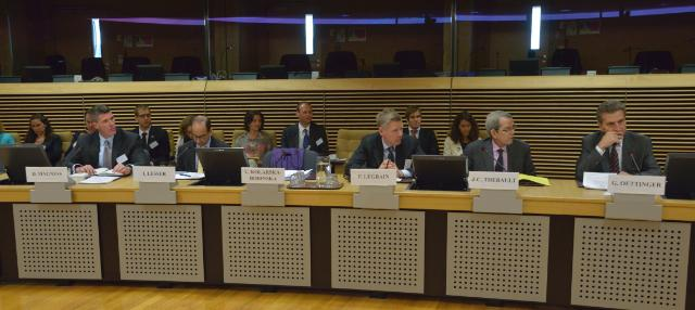 Participation of Olli Rehn, Vice-President of the EC, and Günther Oettinger, Member of the EC, in the high-level seminar on the implications of shale gas for Europe's competitiveness