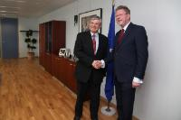 Visit of Marcel Huber, Bavarian Minister for Environment and Public Health, to the EC