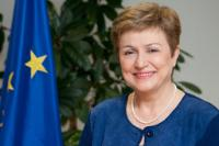 Kristalina Georgieva, Vice-President of the EC in charge of Budget and Human Resources - Bulgaria(01/11/2014 - 31/12/2016)