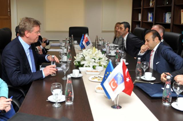 Visit of Štefan Füle, Member of the EC, to Turkey