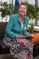 Visit of Barbara-Maria Monheim, Founder and Chairman of the German-Polish-Ukrainian Society, to the EC