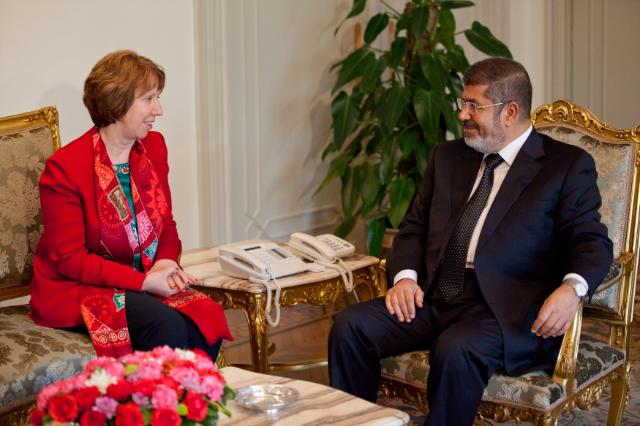 Visit of Catherine Ashton, Vice-President of the EC, to Egypt