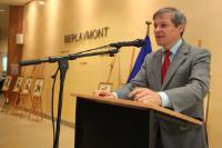 Opening of the exhibition of paintings and drawings 'Introspections' by Aurel Pătraşcu, Romanian painter, with the participation of Dacian Cioloş, Member of the EC