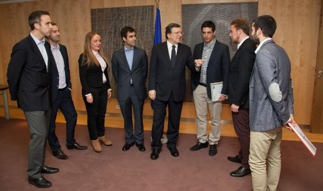 Visit of a delegation of the Youth of the EPP to the EC