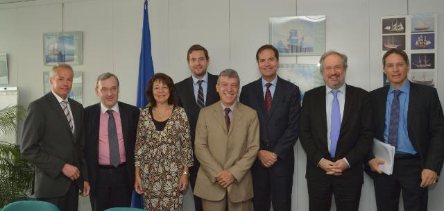 Visit of the representatives of the NPWG of the EAPO at the EC