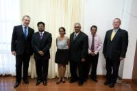 Visit of Andris Piebalgs, Member of the EC, to Guyana