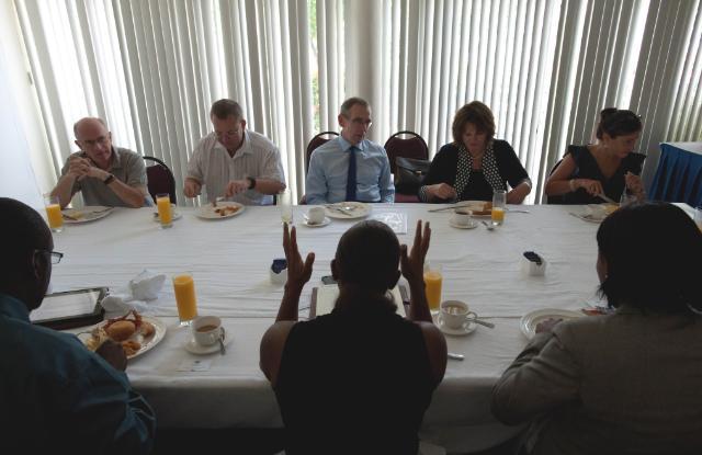 Visit of Andris Piebalgs, Member of the EC, to Guyana