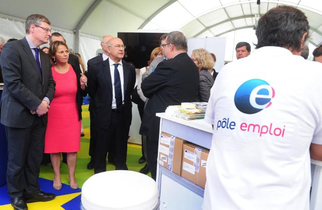 Participation of László Andor, Member of the EC, at the European Job Days Paris 2013