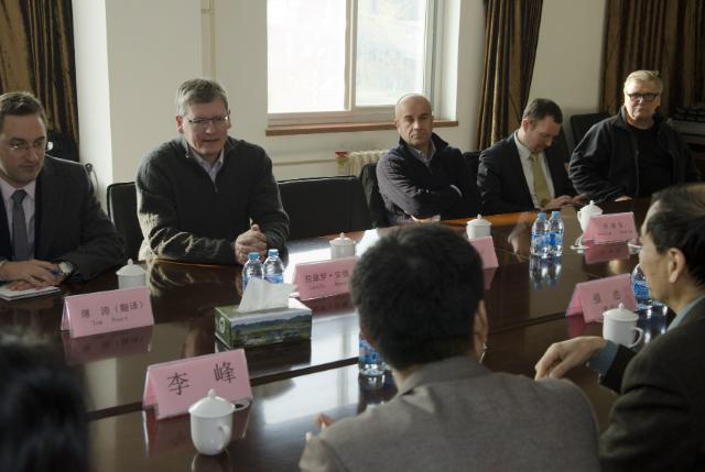 Visit of László Andor, Member of the EC, to China
