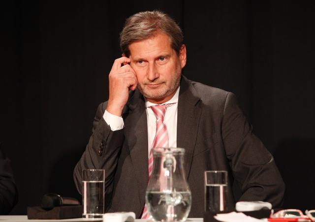 Citizen's Dialogue in Eisenstadt with Johannes Hahn