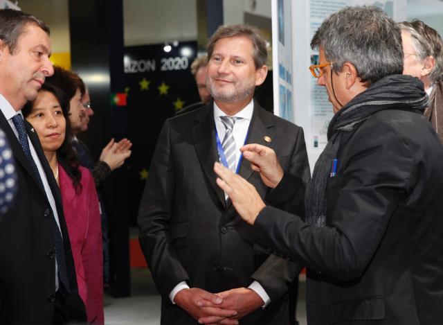 Visite de Johannes Hahn, membre de la CE, en Chine