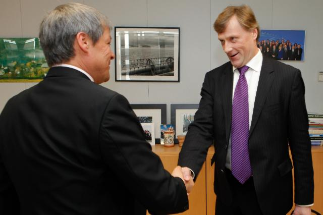 Visit of Jari Koskinen, Finnish Minister for Agriculture and Forestry, to the EC