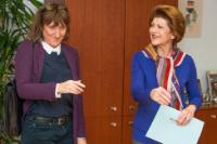 Visit of Beeban Kidron, film director and co-founder of FILMCLUB, to the EC