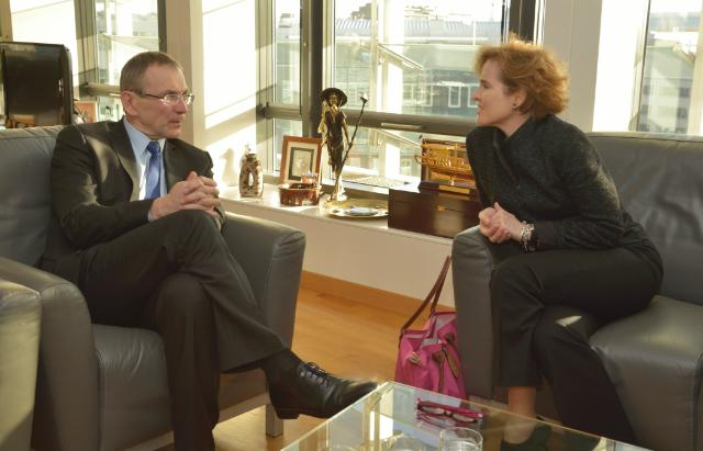 Visit of Alice Albright, Chief Executive Officer for the Global Partnership for Education, to the EC