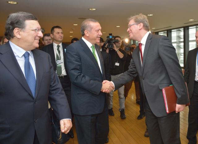 Visit of Recep Tayyip Erdoğan, Turkish Prime Minister, to the EC