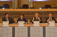 Meeting on sports related industries with the participation of Antonio Tajani and Androulla Vassiliou, Members of the EC