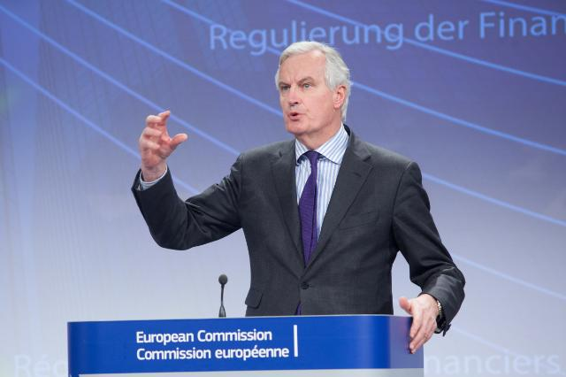 Press conference by Michel Barnier, Member of the EC, on the structural reform of the EU banking sector