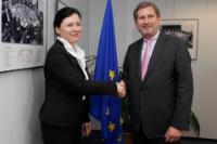Visit of Věra Jourová, Czech Minister for Regional Development, to the EC