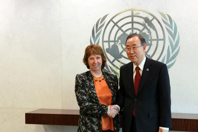 Catherine Ashton, High Rep...