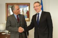 Visit of Arup Banerji, World Bank's Global Director for Social protection and Labour, to the EC