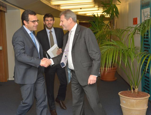 Visit of Constantinos Yiorkadjis, Mayor of Nicosia, to the EC