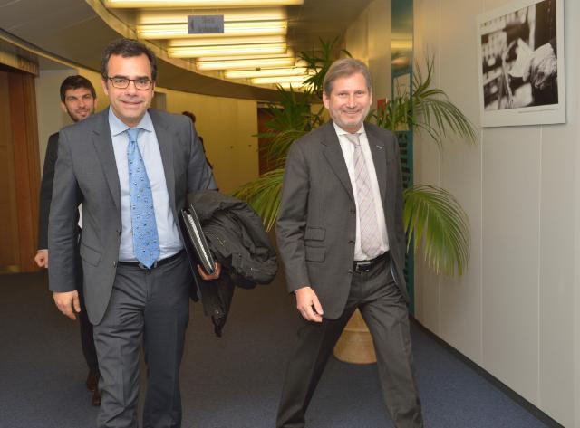 Visit of Constantinos Yiorkadjis, Mayor of Nicosia, to the EC