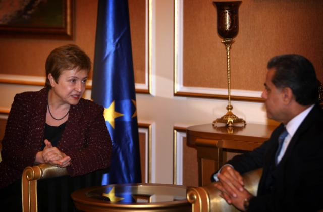 Visit of Kristalina Georgieva, Member of the EC, to Iraq