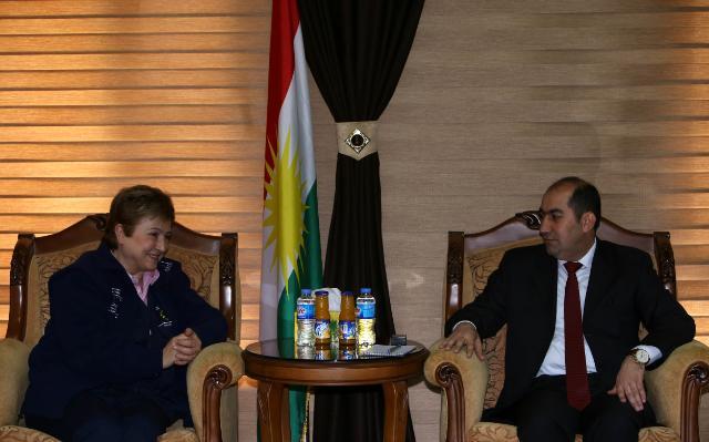Visit of Kristalina Georgieva, Member of the EC, to Iraq