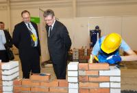 Exhibition and competition of manual trades 'Noor Meister 2014' in Tallinn, with the participation of László Andor, Member of the EC