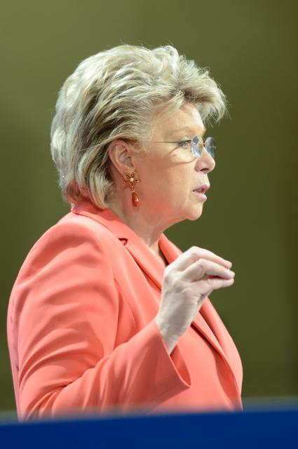 Press conference by Viviane Reding, Vice-President of the EC, on the 2014 EU Justice Scoreboard