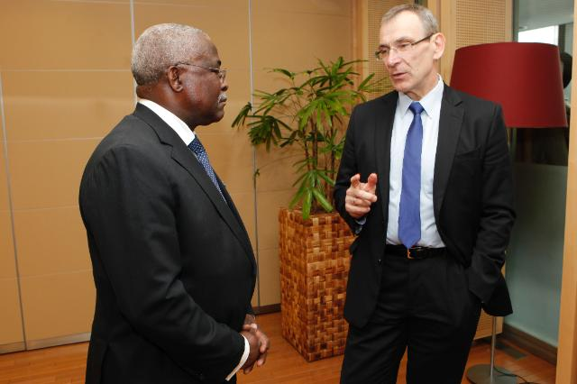 Visit of Kanayo F. Nwanze, President of the IFAD, to the EC