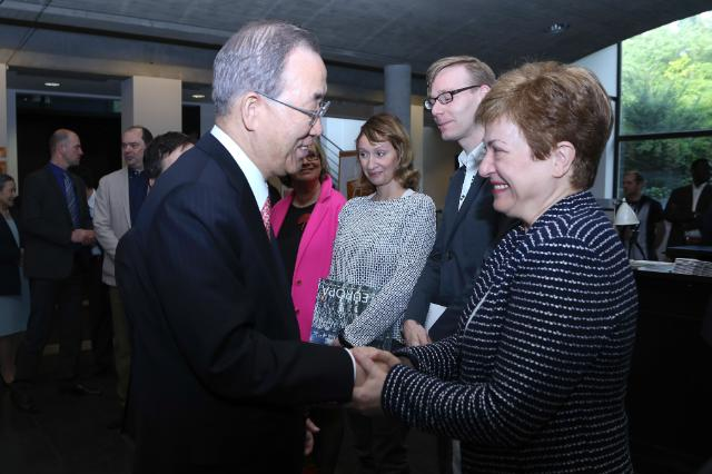 Participation of Kristalina Georgieva, Member of the EC, at the screening of the film 'A World Not Ours', in Brussels