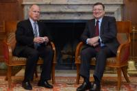 Visit of José Manuel Barroso, President of the EC, to Los Angeles