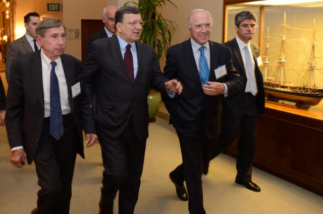 Visit of José Manuel Barroso, President of the EC, to Los Angeles
