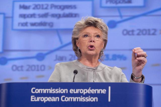 Press conference by Viviane Reding, Vice-President of the EC, on the annual reports 2013 on the application of the EU Charter of Fundamental Rights and on the gender equality