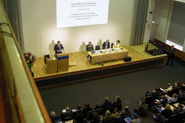 Speech by José Manuel Barroso, President of the EC, at the Humboldt University of Berlin