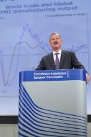 Conférence de presse de Siim Kallas, vice-président de la CE, sur les prévisions économiques de printemps
