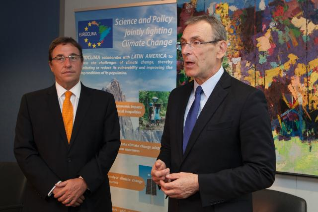 Signature ceremony of the Contribution Agreement Euroclima–UNEP