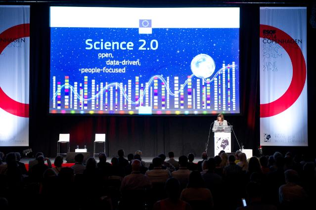 Participation of Máire Geoghegan-Quinn, Member of the EC, at the EuroScience Open Forum 2014, in Copenhagen