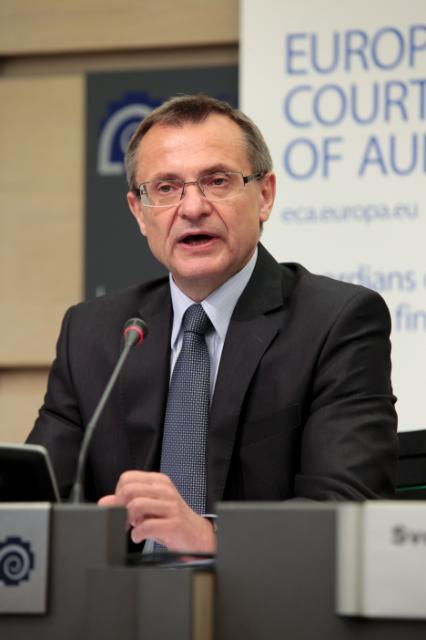 Press conference by Augustyn Kubik, Member of the European Court of Auditors, on the report 'Has the Commission effectively managed the integration of coupled support into the Single Payment Scheme?'