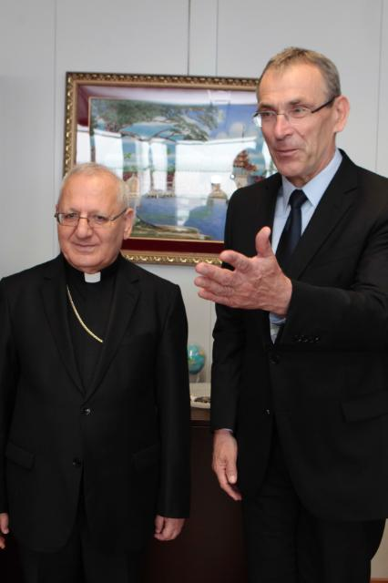 Visit of Louis Raphaël I Sako, Patriarch of Babylon of the Chaldeans and Head of the Chaldean Catholic Church, to the EC