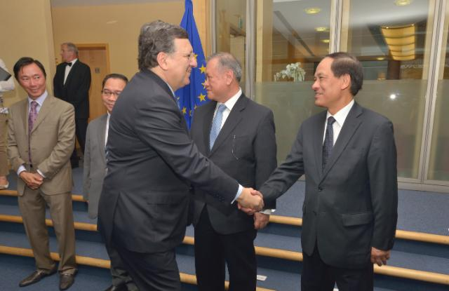 Visit of Le Luong Minh, Secretary General of the ASEAN, to the EC