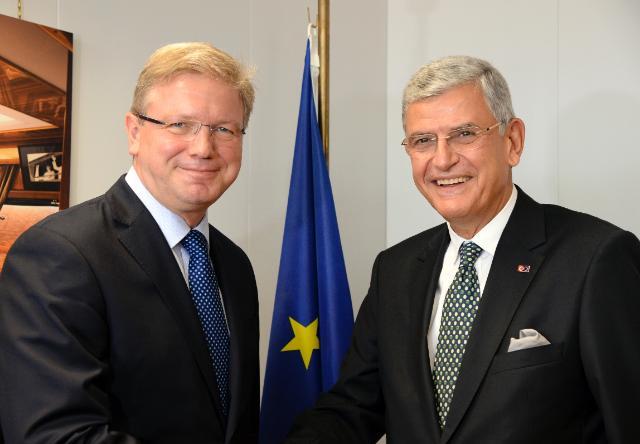Visite de Volkan Bozkır, ministre turc des Affaires européennes et négociateur en chef pour les négociations d'adhésion à l'UE, à la CE