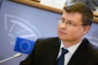 Valdis Dombrovskis, Vice-President of the EC in charge of the Euro, Social Dialogue, Financial Stability, Financial Services and Capital Markets Union - Latvia