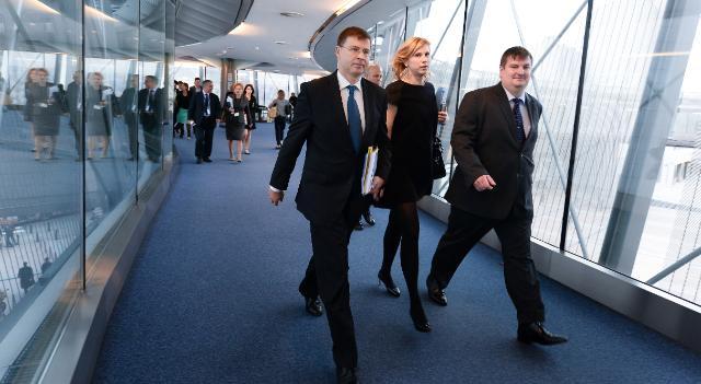 Audition de Valdis Dombrovskis, vice-président désigné de la CE, au PE