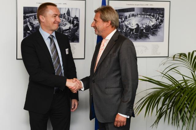 Visite de Bojan Pajtić, président du conseil exécutif de la province autonome de Vojvodina et président du parti démocratique, à la CE