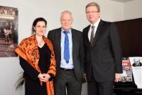 """Illustration of """"Visite de Thomas Hammarberg, conseiller spécial de l'UE sur la réforme constitutionnelle et juridique et..."""