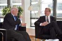 "Illustration of ""Visit of Thomas Hammarberg, EU Special Adviser on Constitutional and Legal Reform and Human Rights in..."