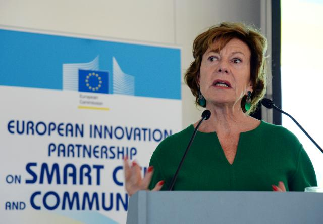 Participation of Neelie Kroes and Günther Oettinger, Vice-Presidents of the EC, in the opening of the 'EIP Smart Cities and Communities' kick-off conference